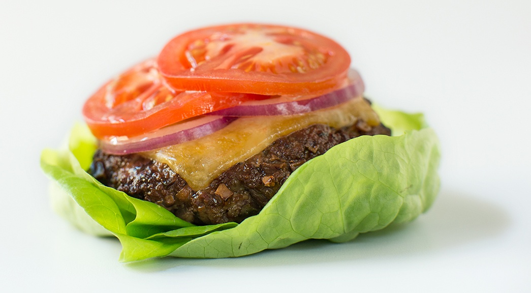 Mighty Mushroom Lettuce Wrapped Blended Burger_small