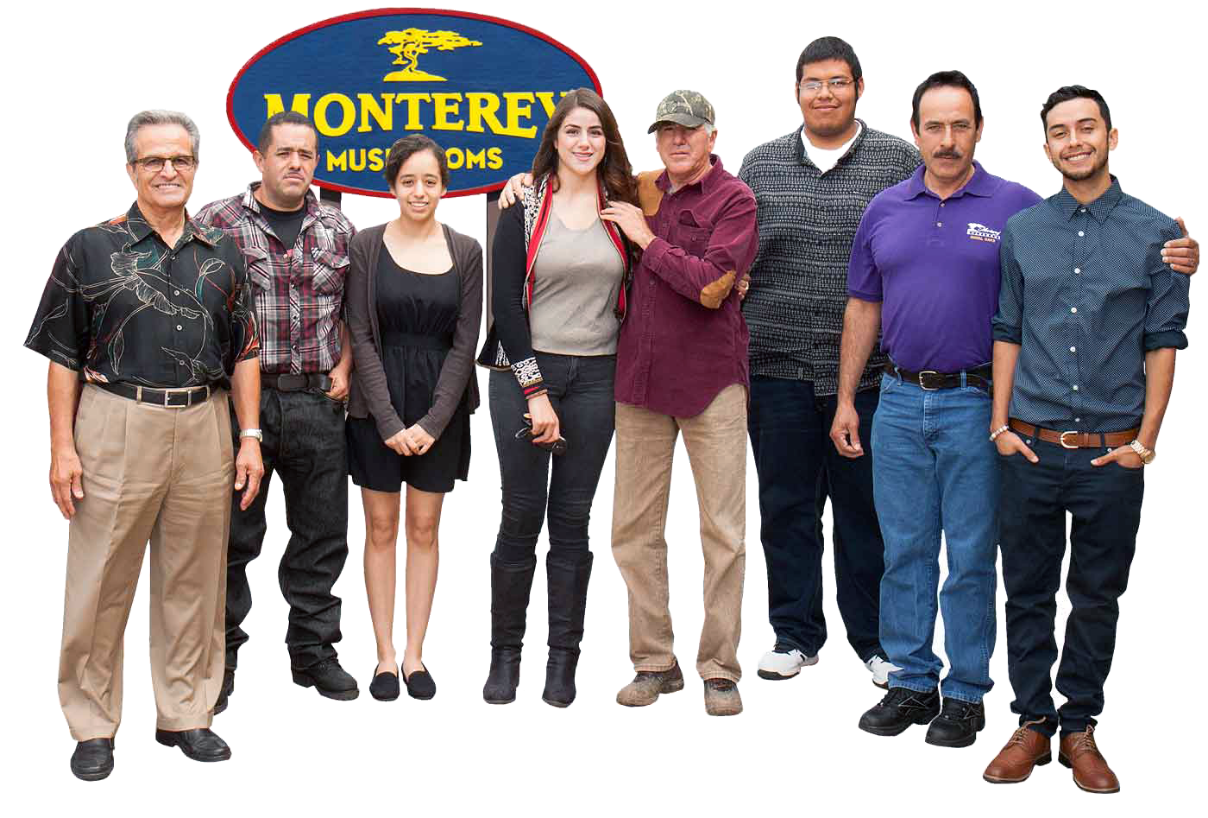 Monterey Mushrooms Team Photo