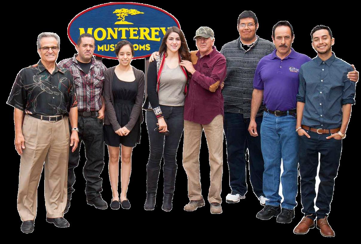 Monterey Mushrooms Team Photo