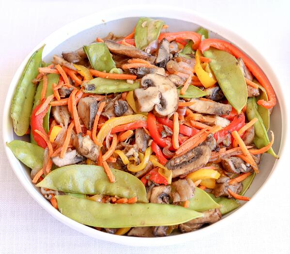 Asian Rainbow Stir Fry