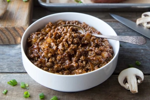 Let's Blend® Blended Turkey & Mushroom BBQ Stuffed Sweet Potatoes-1-853919-edited-395436-edited