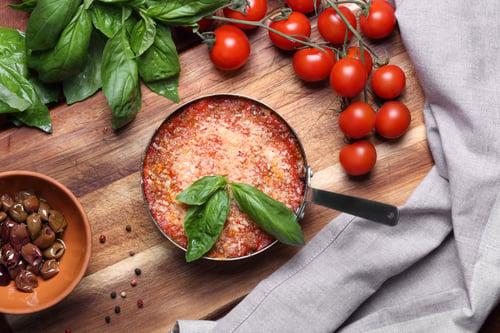 Mushroom Skillet Lasagna Recipe
