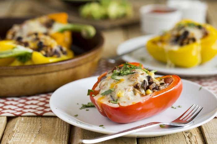 Pepper-Burrito-Bowls-stuffed-peppers-2