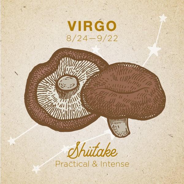 Virgo-Shiitake