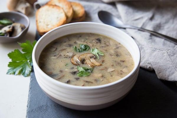 easy-mushroom-soup