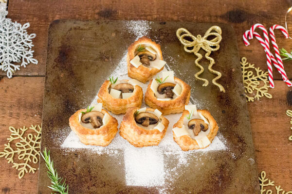 creamy-mushroom-puffed-shells