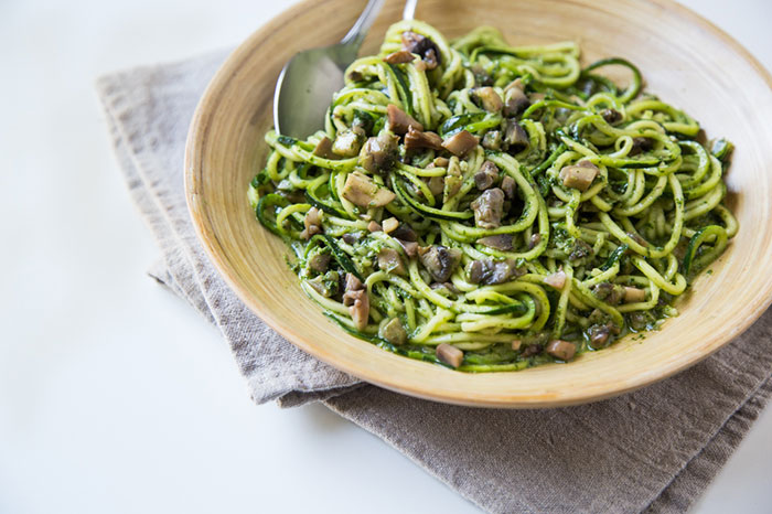 kale-pesto-zoodles-with-mushrooms
