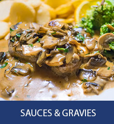 Mushroom Sauces and Gravies