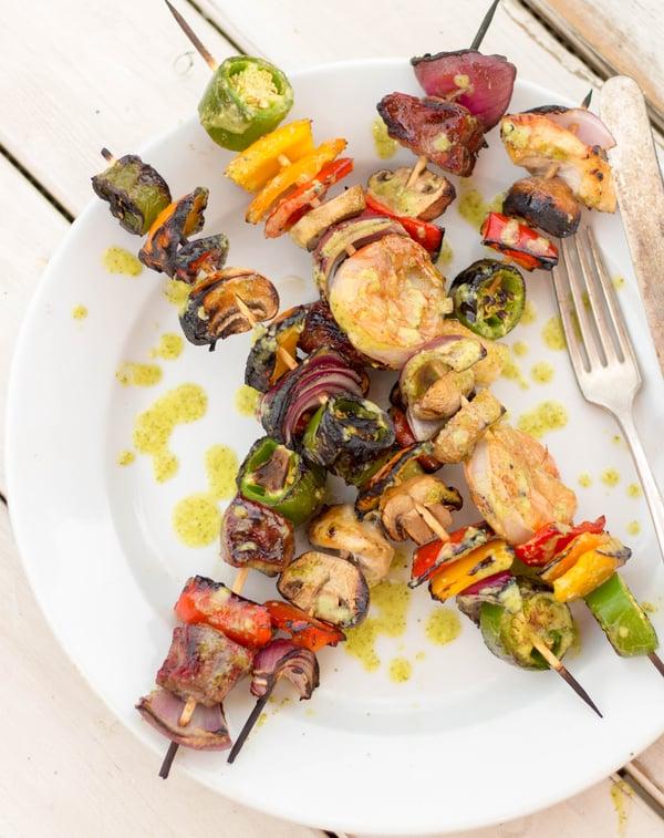 Fajita Kebabs