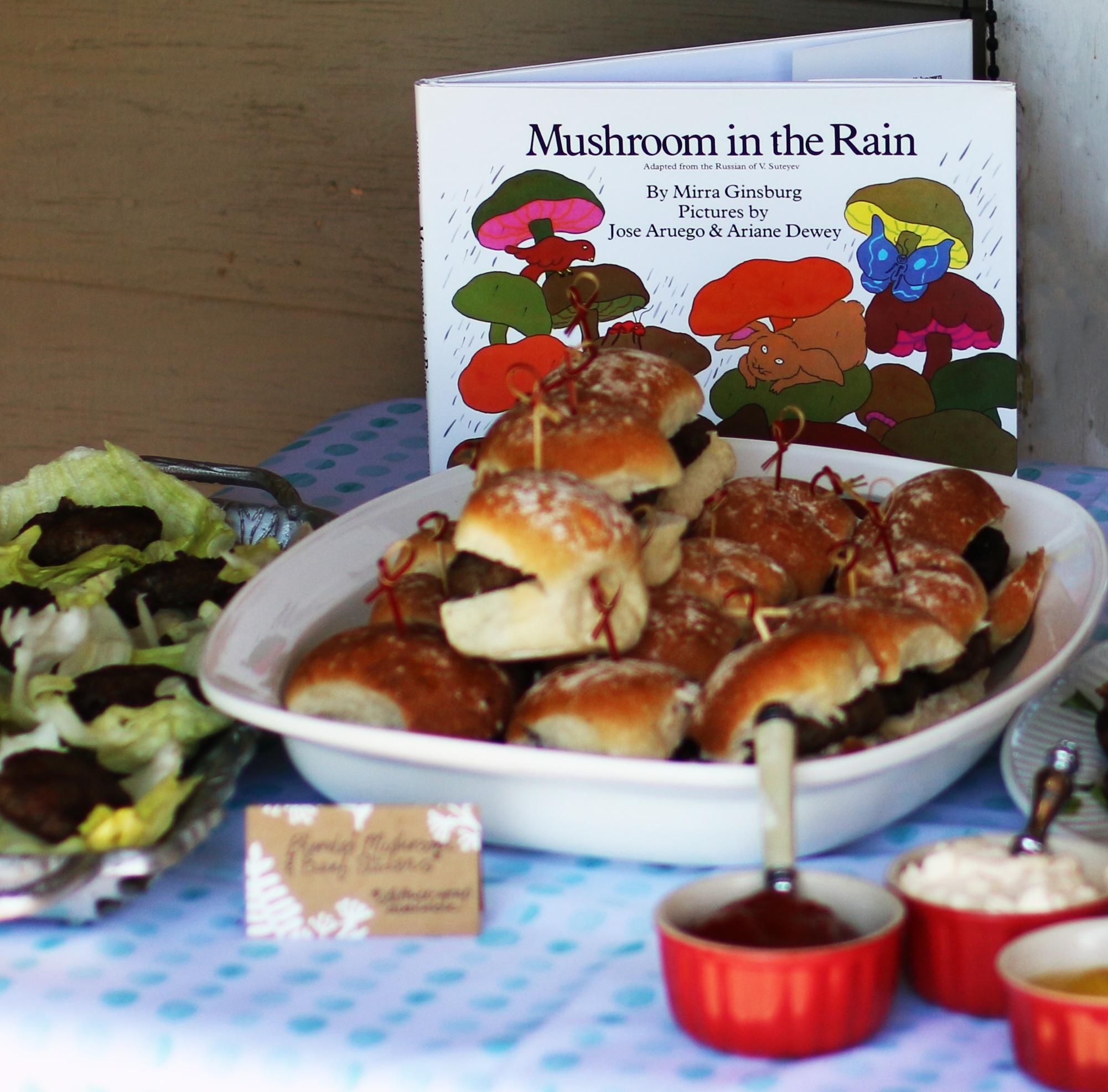 Mushroom Appetizer Table